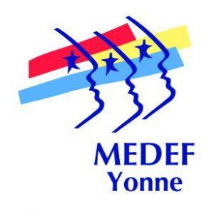 logo Medef Yonne