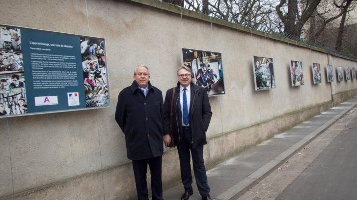 photo M.VAUCOULOUX et M.BEX